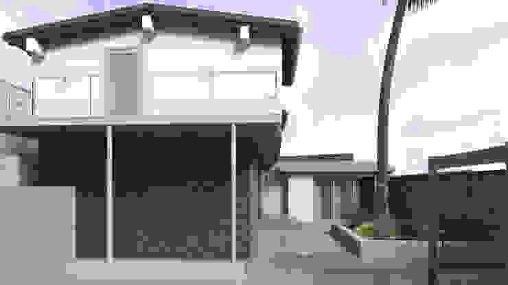 Diseño de Balcones y Terraza Balcones y terrazas de estilo moderno de Gabriela Afonso Moderno Piedra