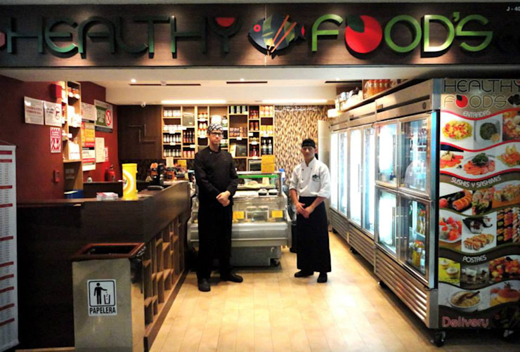 HF HEALTHY FOOD'S OPFA Diseños y Arquitectura Restaurantes
