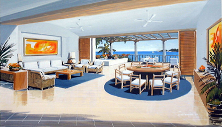 Vista Real Acapulco- Boué Arquitectos Hoteles de estilo moderno de Boué Arquitectos Moderno