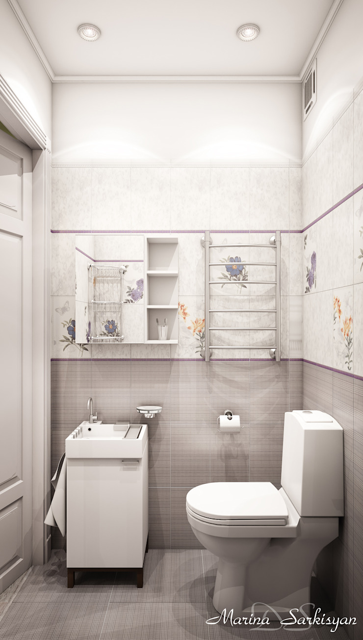 Country style bathroom by Marina Sarkisyan Country