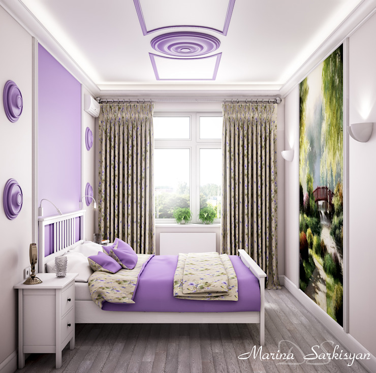 Country style bedroom by Marina Sarkisyan Country