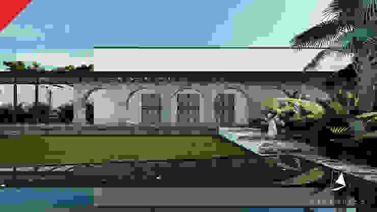 Casa de Campo Tempoal Casas minimalistas de Tectónico Minimalista