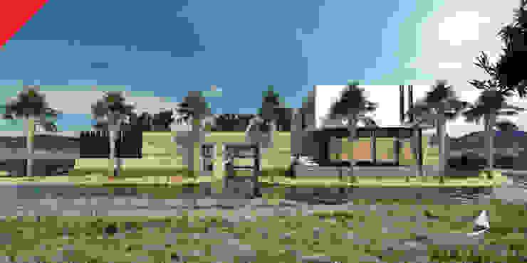 Casa de Campo Querétaro Casas minimalistas de Tectónico Minimalista