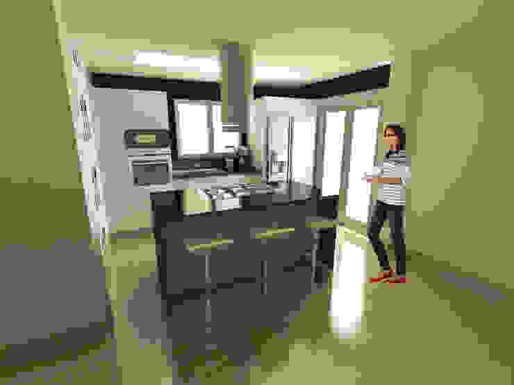 Cozinhas minimalistas por OPFA Diseños y Arquitectura Minimalista