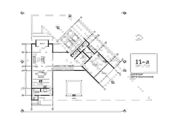 Plano Arquitectónico Planta Baja de VIVAinteriores Minimalista