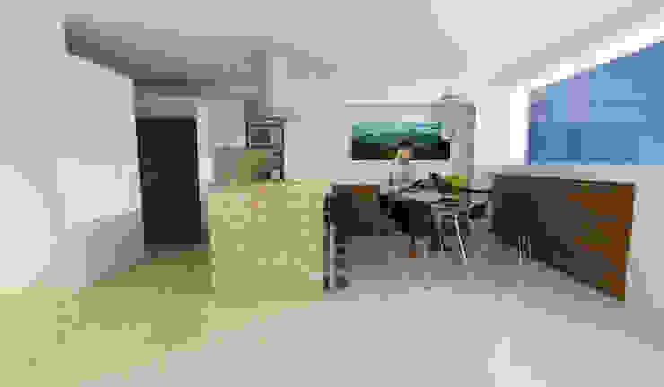 Cocina Apartamento Jardín de Los Olivos OPFA Diseños y Arquitectura Cocinas de estilo moderno
