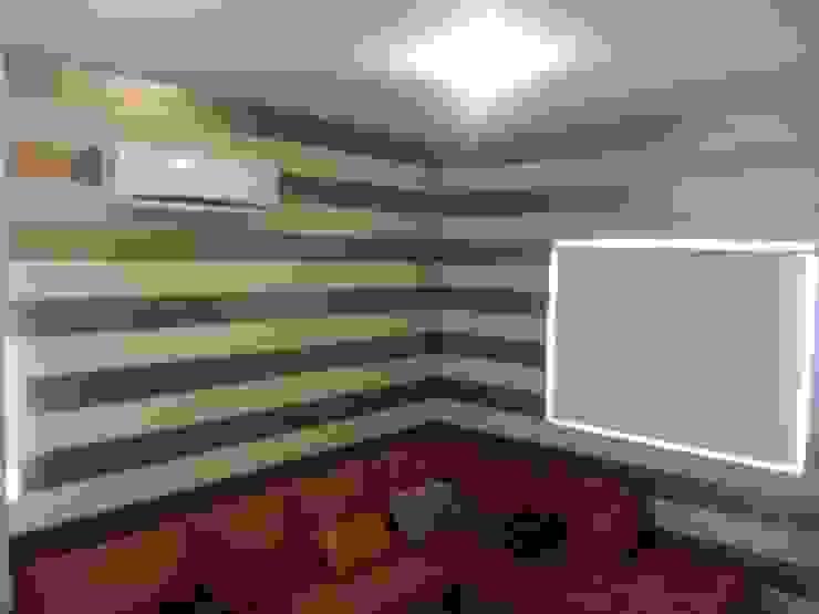 Modern media room by VIVAinteriores Modern