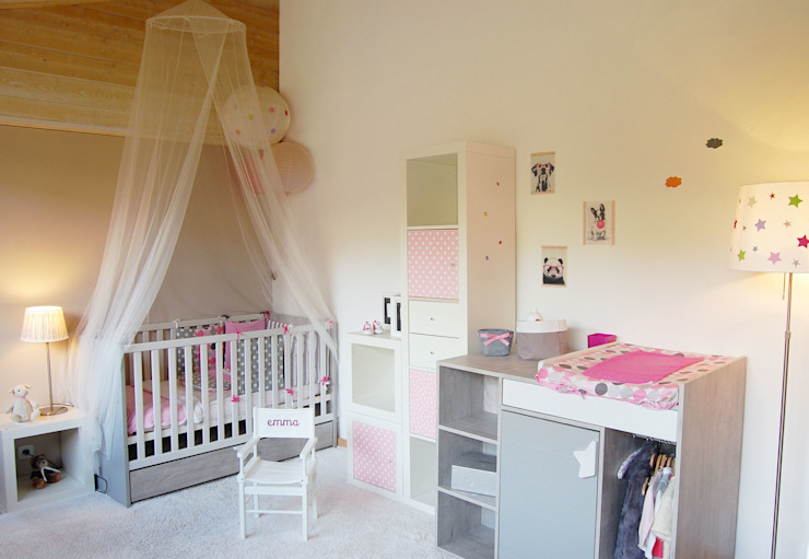 Dormitorios infantiles de estilo  de Pièces d'identité