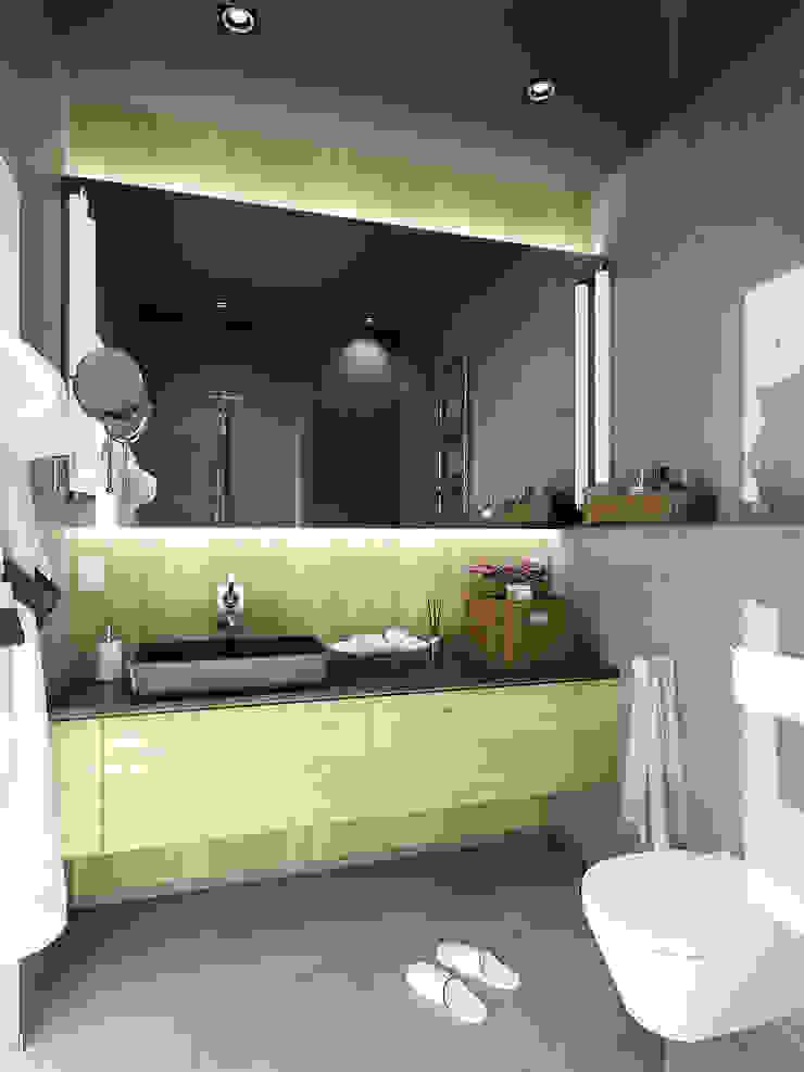 APARTMENT/1 Ванная комната в скандинавском стиле от ONE STUDIO Скандинавский