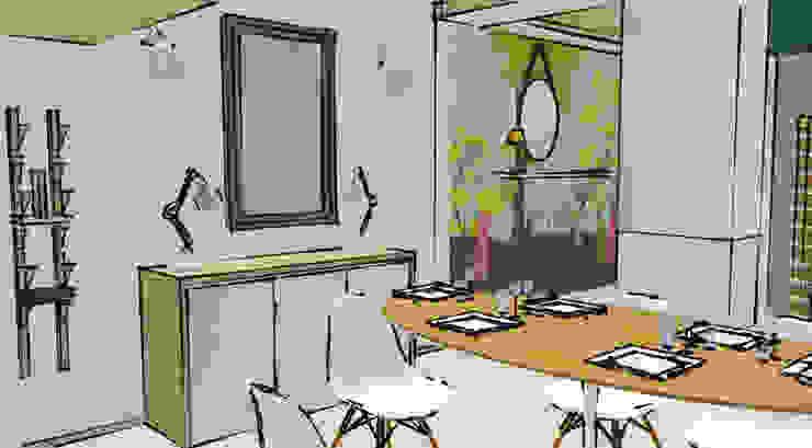 Scandinavian style dining room by Pièces d'identité Scandinavian