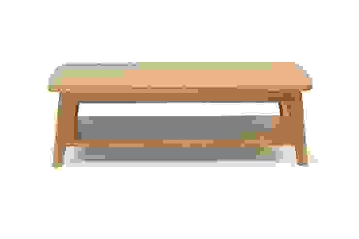Oryginalny stolik kawowy Kensal od onemarket.pl Nowoczesny Drewno O efekcie drewna