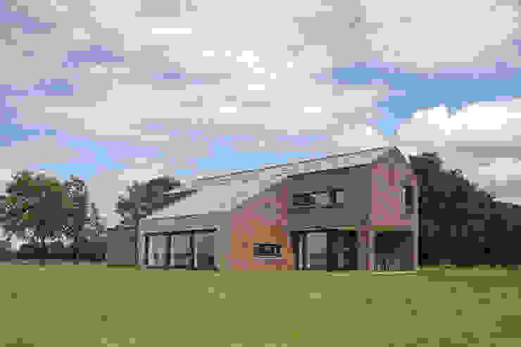 Achtergevel Landelijke huizen van BenW architecten Landelijk Hout Hout