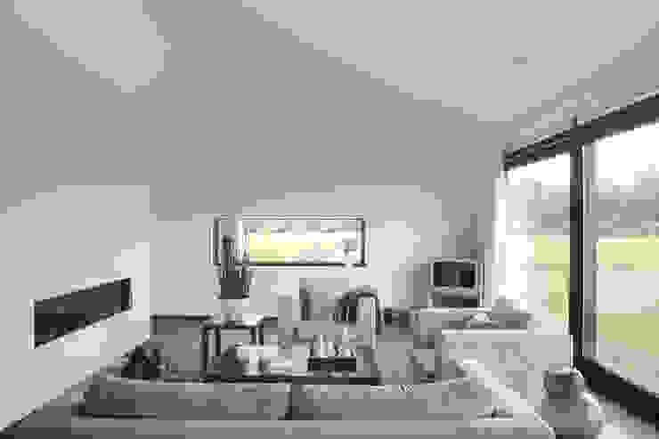 Modern living room by BenW architecten Modern