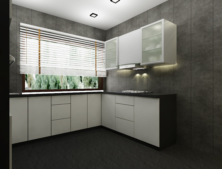 Modern kitchen by Space Interface Modern