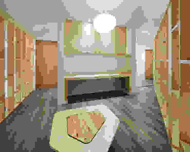양평 오솔집: B.U.S Architecture의  거실,모던