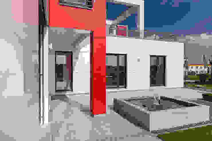 Lopez-Fotodesign Casas modernas Blanco
