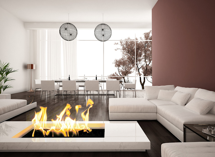 Gruppo San Marco Living roomFireplaces & accessories