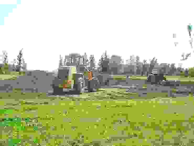Cancha de Fútbol Kretz S.A de Dhena CONSTRUCCION DE JARDINES Rural