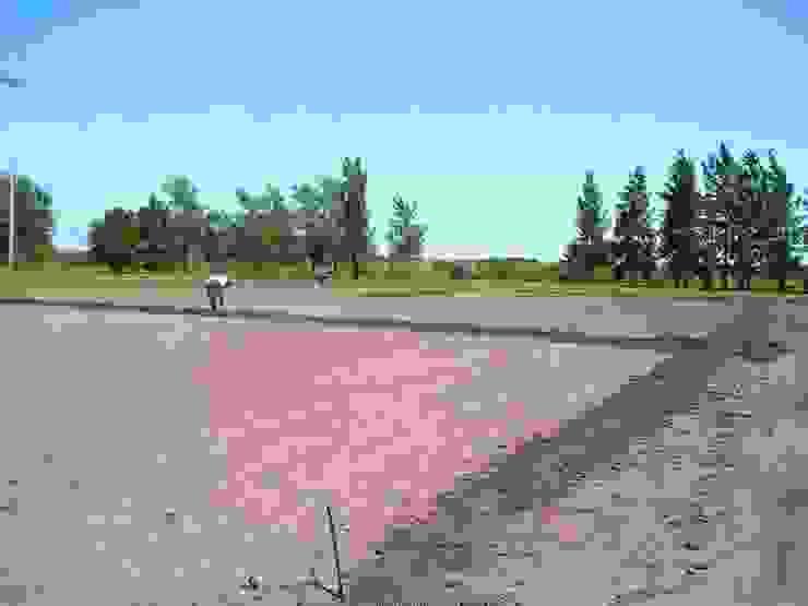 Cancha de Fútbol Kretz S.A Jardines rurales de Dhena CONSTRUCCION DE JARDINES Rural