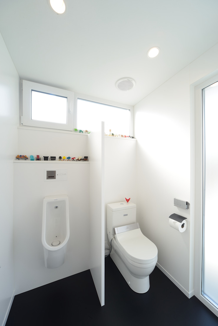 『Tatsuhiro Base』 株式会社 竜廣設計 モダンスタイルの お風呂