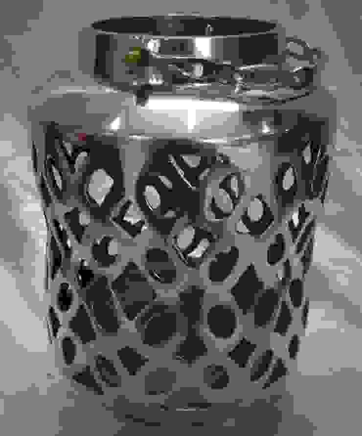 Geometrically Perforated Lantern: modern  by Overseas Trading Corporation,Modern Aluminium/Zinc
