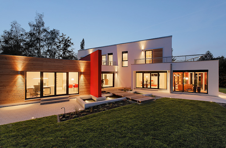 LUXHAUS Musterhaus Georgensgmünd Moderne Häuser von Lopez-Fotodesign Modern