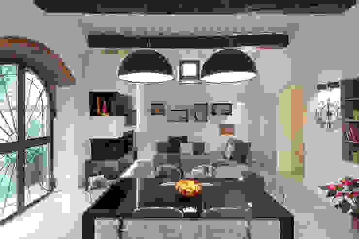 Moderne eetkamers van B+P architetti Modern