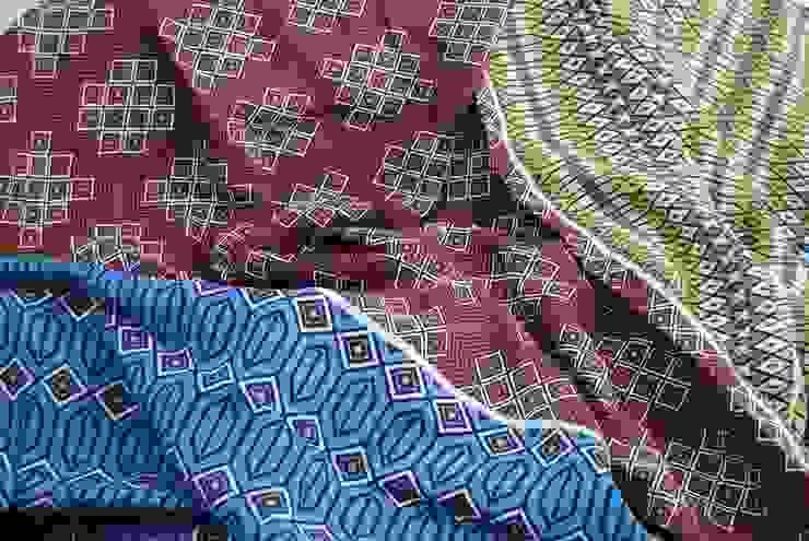 1 peça 3 padrões por tramadesign Campestre Linho Rosa