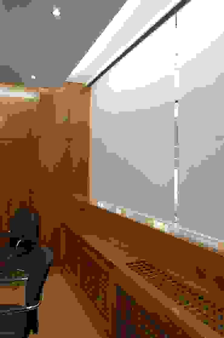 Sala de reuniões depois por Critério Arquitectos by Canteiro de Sousa