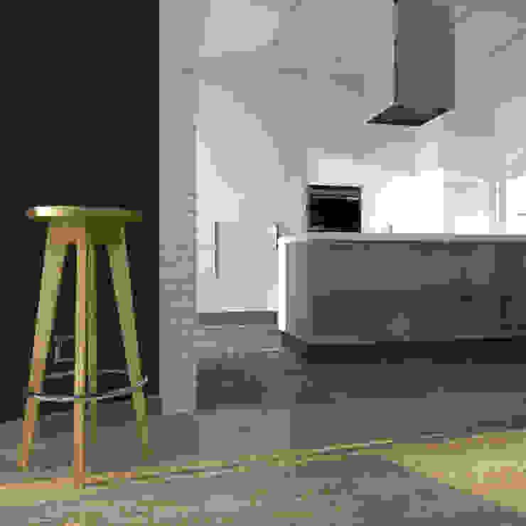 CHM architect Industrial style kitchen