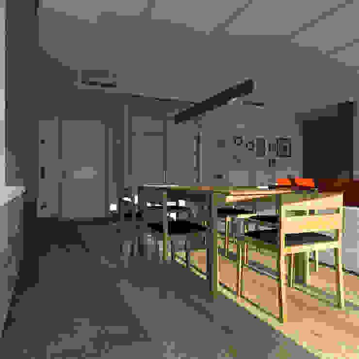 CHM architect Minimalist dining room
