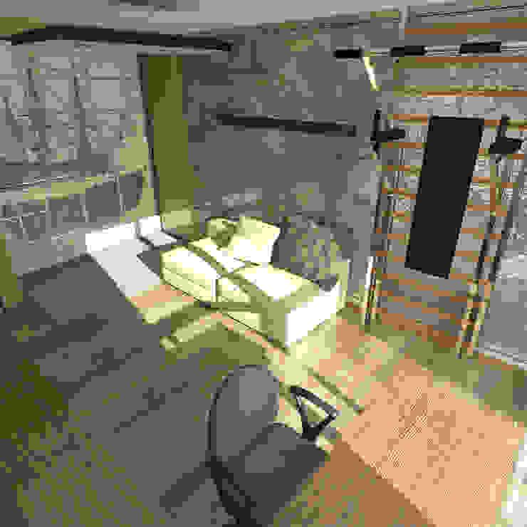 Минималистический лофт в жилом комплексе 'Ньютон. Москва, 2015 Детская комнатa в стиле минимализм от CHM architect Минимализм