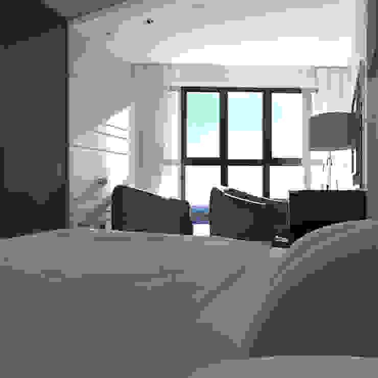 CHM architect Minimalist bedroom
