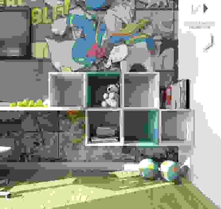 Modern Çocuk Odası Architekt wnętrz Klaudia Pniak Modern