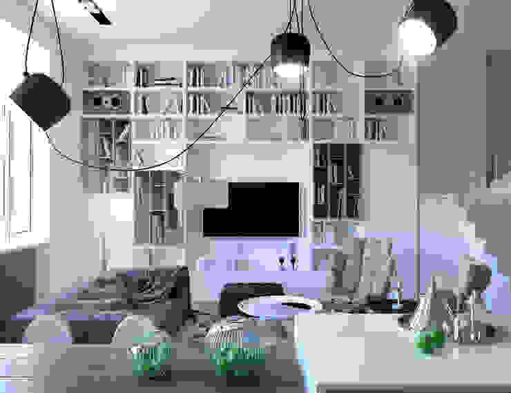 Minimalistische Wohnzimmer von ONE STUDIO Minimalistisch
