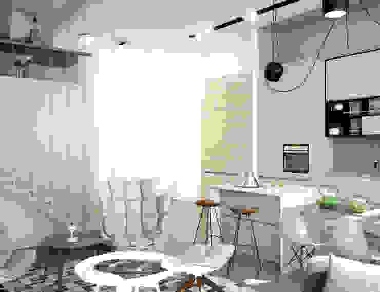 Minimalistische Küchen von ONE STUDIO Minimalistisch