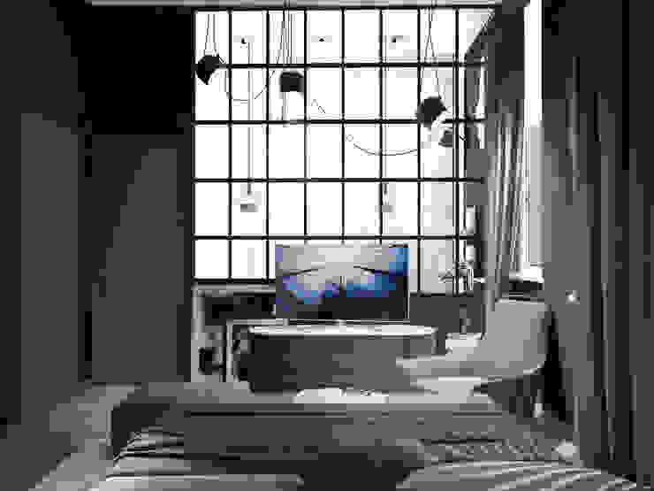 Minimalistische Schlafzimmer von ONE STUDIO Minimalistisch