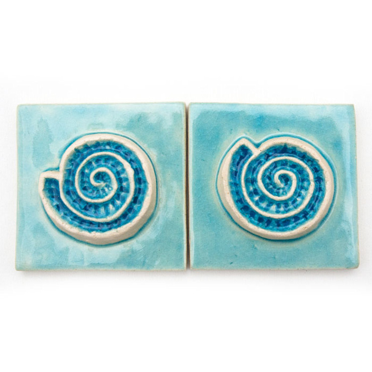 Dekory Nati Hotels Pottery Blue