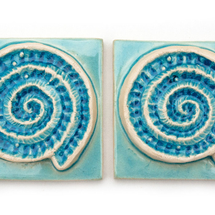 Dekory Nati BathroomDecoration Pottery Blue