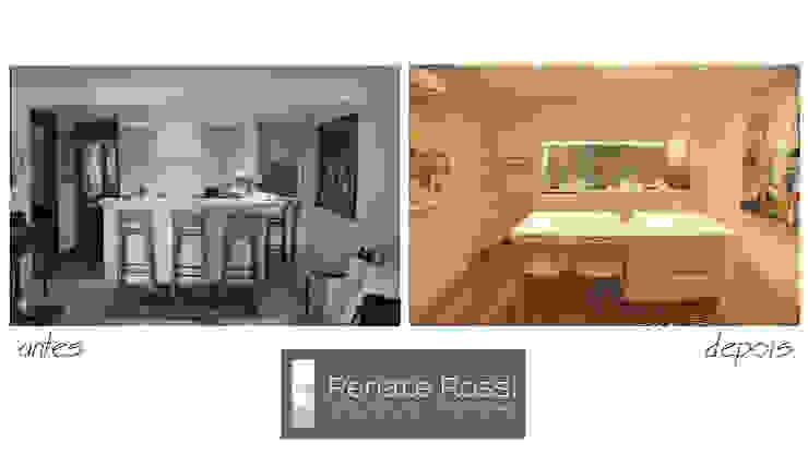 Cozinha americana por Renate Rossi Arquitetura + Interiores
