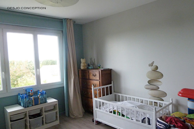 Chambre d'enfant Desjoconception Chambre d'enfant moderne Bleu