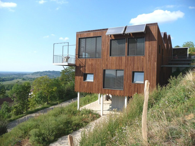 Modern Houses by Thierry Marco Architecture Modern Wood Wood effect