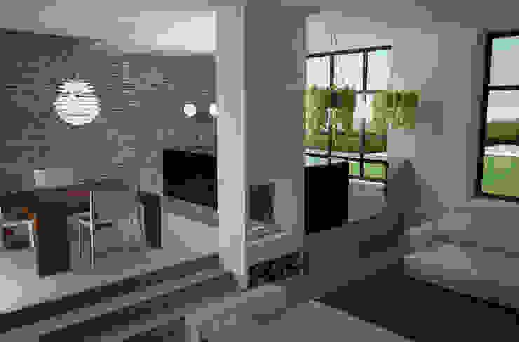 Vista interna Cucina in stile industriale di a10studioarchitettura Industrial