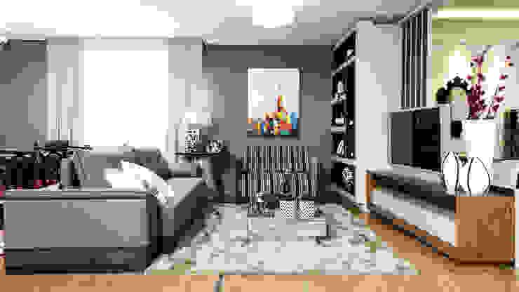 Sala TV por Sgabello Interiores Moderno