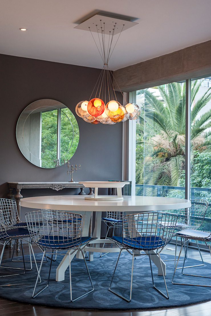 MAAD arquitectura y diseño Eclectic style dining room