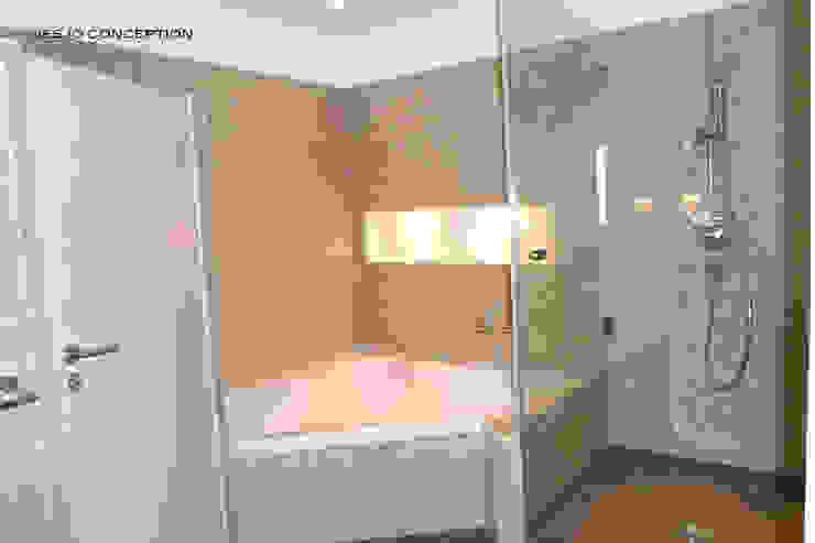 La salle de bain parentale Locaux commerciaux & Magasin classiques par Desjoconception Classique