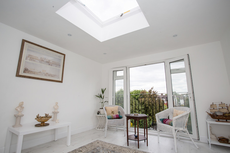 South East London loft conversion Minimalist conservatory by LMB Loft Conversions Minimalist