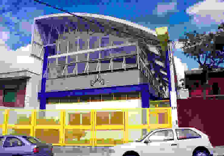 Vista Rua Java - primeira fase Locais de eventos modernos por Douglas Piccolo Arquitetura e Planejamento Visual LTDA. Moderno
