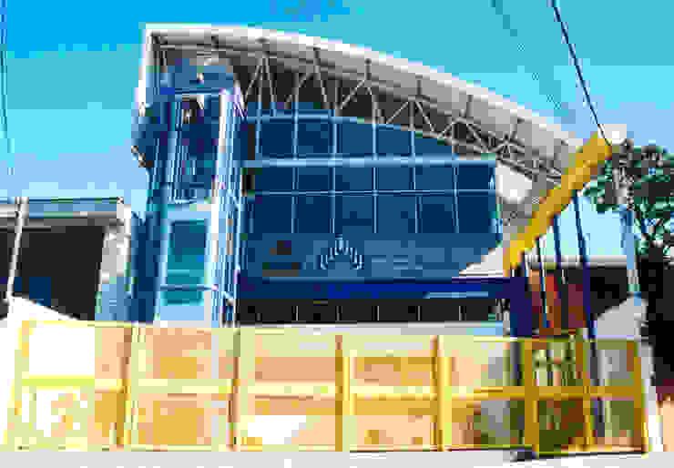 Vista Rua Java - segunda fase Locais de eventos modernos por Douglas Piccolo Arquitetura e Planejamento Visual LTDA. Moderno