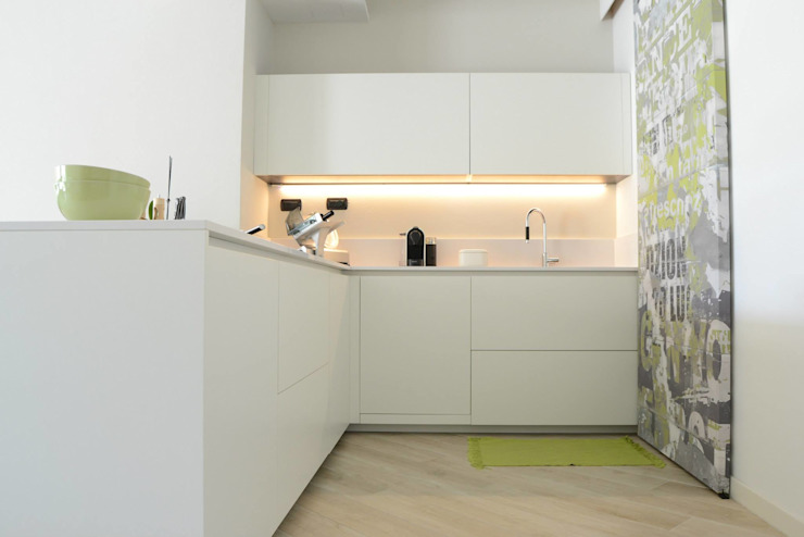 Modern Kitchen by LTAB/LAB STUDIO Modern